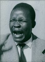 Southern Rhodesian politician, Mr. Nziramasanga, 1960.