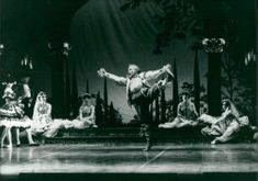 People performing in the stage, Dance Ballet.