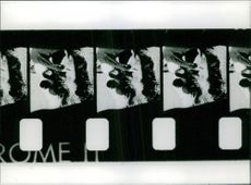 Film strip of a movie in a making The filmstrip was a common form of still image instructional multimedia
