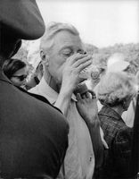 Duke of Windsor having a drink.