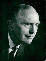 Walter Bird portrait of Sir Alec Douglas-Home, British politician