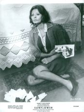 "Actress Sophia Loren in the movie ""Sunflower"""