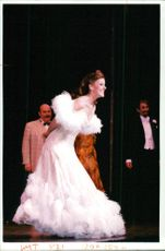 """Actress Ruthie Henshall , star of """"Crazy for you"""""""