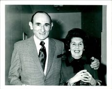 Alfred Tack with his wife
