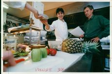 Chef:two files.chef patron with chef mathew prowse