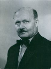 A vintage photo of Andre Le Troquer who is leading member of the French socialist party wherein he succeeded Edward Herriot.