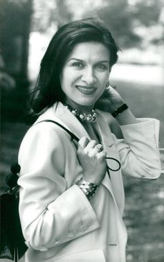 Portrait image of Paloma Picasso taken in an unknown context.