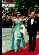 The Danish royal couple at their 60th anniversary
