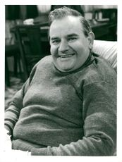 Portrait image of Ronnie Barker, actor, in the role of Fletcher.