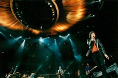 Mick Jagger during The Rolling Stones concert in Globen