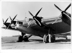A Junkers G 38 that went on air traffic in 1931-1940