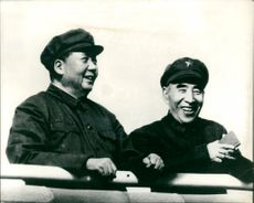 Mao Tse-Tung and Marshal Lin Piao