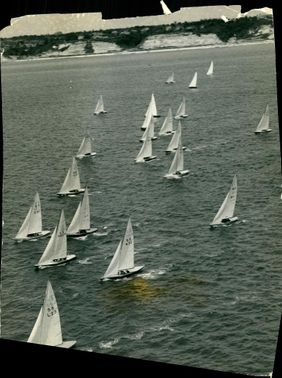 Race in the series for the 5.5 metre world championship.