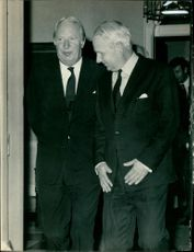 Arthur Brian Deane Faulkner with mr. heath.