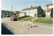 Channel Tunnel: Threatened private housing estate.