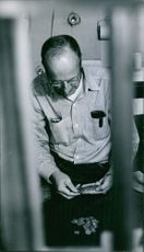 Man in a penitentiary 1963.
