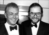 Michael White and Rupert Holmes