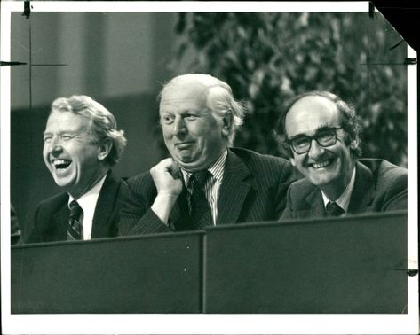 Peter Walker:Three Ministers enjoying