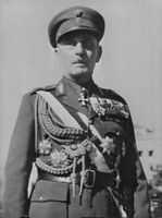 Portrait of Field Marshal Papagos.