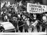 Race contradictions and riots in Liverpool.