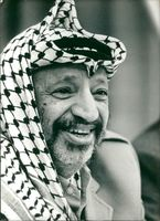 Yasser Arafat Former Chairman of the Palestine Liberation Organization.