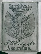 Logo for P. C. Rettig & Co - Turku Factory