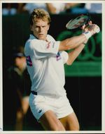 Tennis player portrait Stefan Edberg
