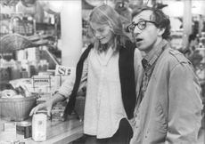 "Woody Allen och Mariel Hemingway under filminspelningen av ""Manhattan"""