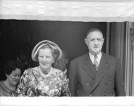 Queen Juliana with French General Charles De Gaulle.