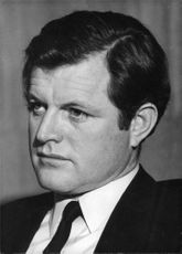 Portrait of Edward m. Kennedy.