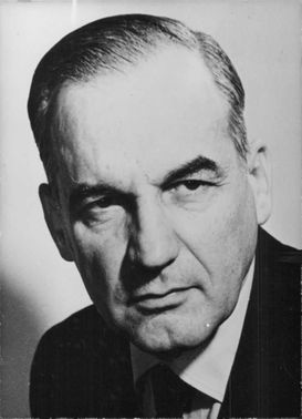 Dr. Albert V. Teddin was secretary of state for industry and mining.