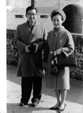 Prince Masahito and wife Hanako.