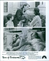 Two scenes from the film Terms of Endearment.