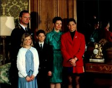 King Carl XVI Gustaf is traditionally watched for his birthday by the family