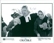 Bruce Davison and Winona Ryder in a scene from the movie The Crucible, 1996.