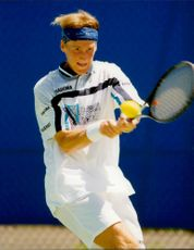 Christian Ruud (Norway) plays in the Australian Open