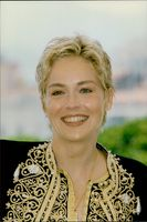 """Sharon Stone attends the Cannes Film Festival to promote his new movie """"The Mighty"""""""