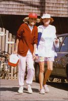 Eunice Shriver and Pat Lawford