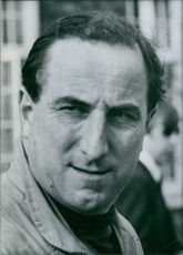 Vintage photograph of Brian Trubshaw. 1969.