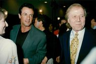 """Sylvester Stallone at the premiere of the movie """"Outbreak"""""""