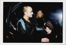 Andre Agassi together with Steffi Graf.