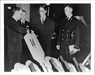 Prince Baudouin of Belgium on official visit to the United States - Year 1948