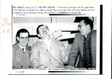 Joseph Cicippio with terry Anderson and Alan Steen.
