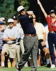 Golf player Paul McGinley during Scandinavian Masters 1995