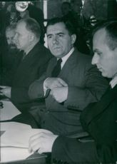 Andrei Andreyevich Gromyko at the conference. 1951