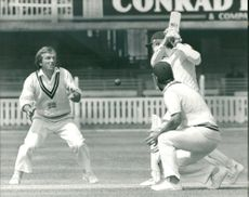 Cricket (1982)with bobcarter and clive radley.