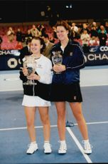 Martina Hingis Wins back first place from Lindsay Davenport in New York