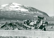 Ritsembygget 1978, the work at Sitas Sitasjavre at Stora Sjöfall National Park in Lapland.
