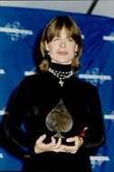 """Linda Hamilton won the CalbleACE Award for her role as Rosemary Holmstrom in """"A Mother's Prayer""""."""