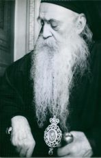 Portrait of Athenagoras I. 1967.